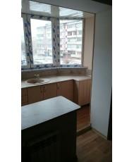 кухня встроенная на балконе